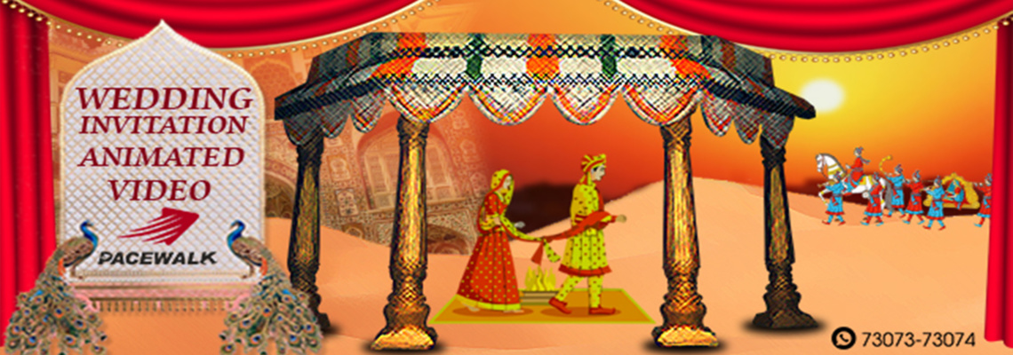 Wedding Invitation Animated Video