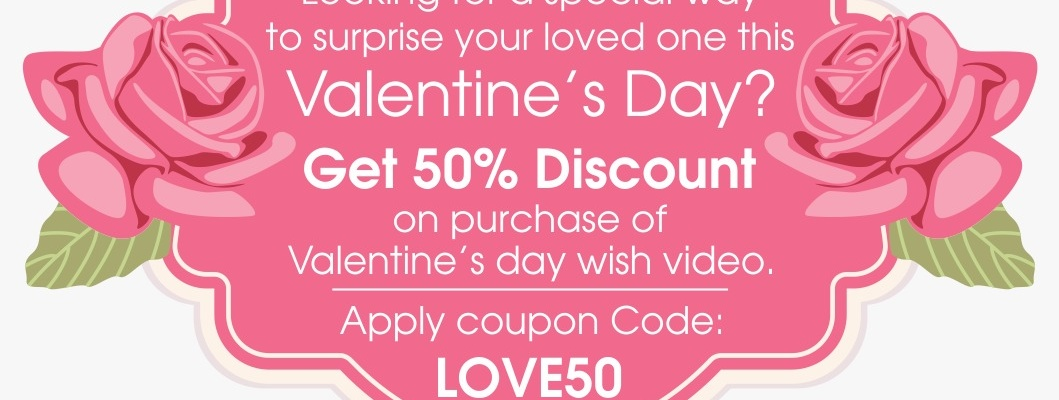 Valentine\'s Day Special Video Gift Offers | Pacewalk
